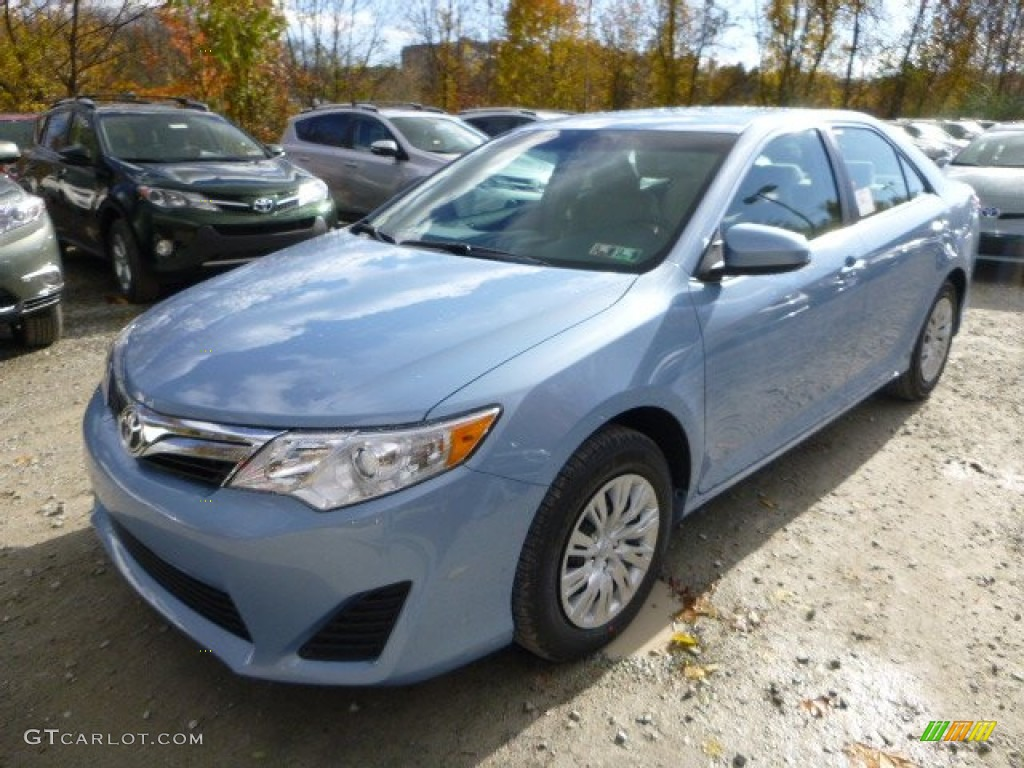 2014 clearwater blue metallic toyota camry le 87457421 photo 7 car color. Black Bedroom Furniture Sets. Home Design Ideas