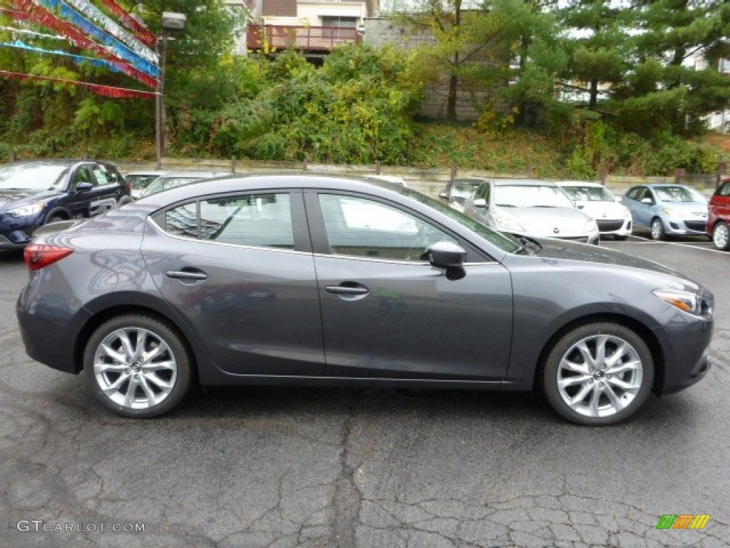 Meteor Gray Mica 2014 Mazda Mazda3 S Grand Touring 4 Door Exterior Photo 87469838 Gtcarlot Com