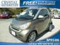Gray Metallic 2009 Smart fortwo passion cabriolet