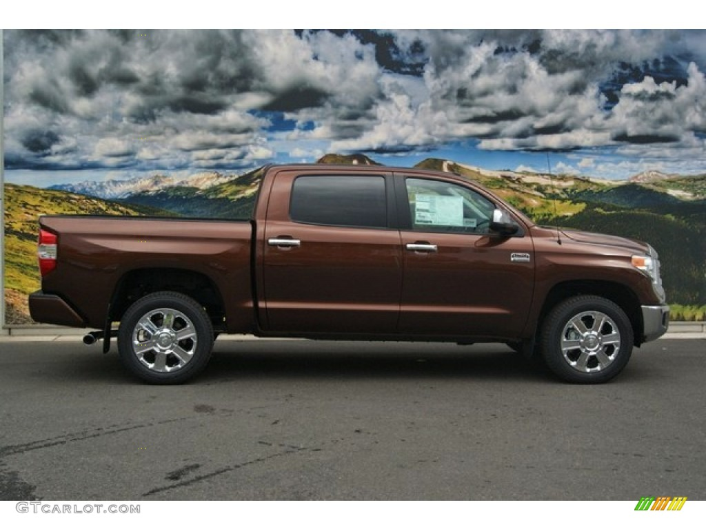 2014 Tundra 1794 Edition Crewmax 4x4 - Sunset Bronze Mica / 1794 Edition Premium Brown photo #2