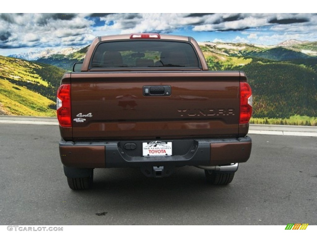 2014 Tundra 1794 Edition Crewmax 4x4 - Sunset Bronze Mica / 1794 Edition Premium Brown photo #8