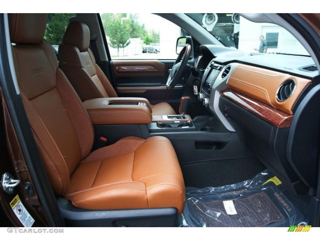 2014 Tundra 1794 Edition Crewmax 4x4 - Sunset Bronze Mica / 1794 Edition Premium Brown photo #13