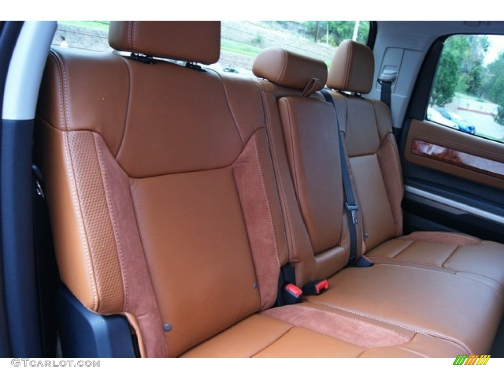 2014 Tundra 1794 Edition Crewmax 4x4 - Sunset Bronze Mica / 1794 Edition Premium Brown photo #21