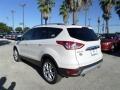 2014 White Platinum Ford Escape Titanium 2.0L EcoBoost  photo #3