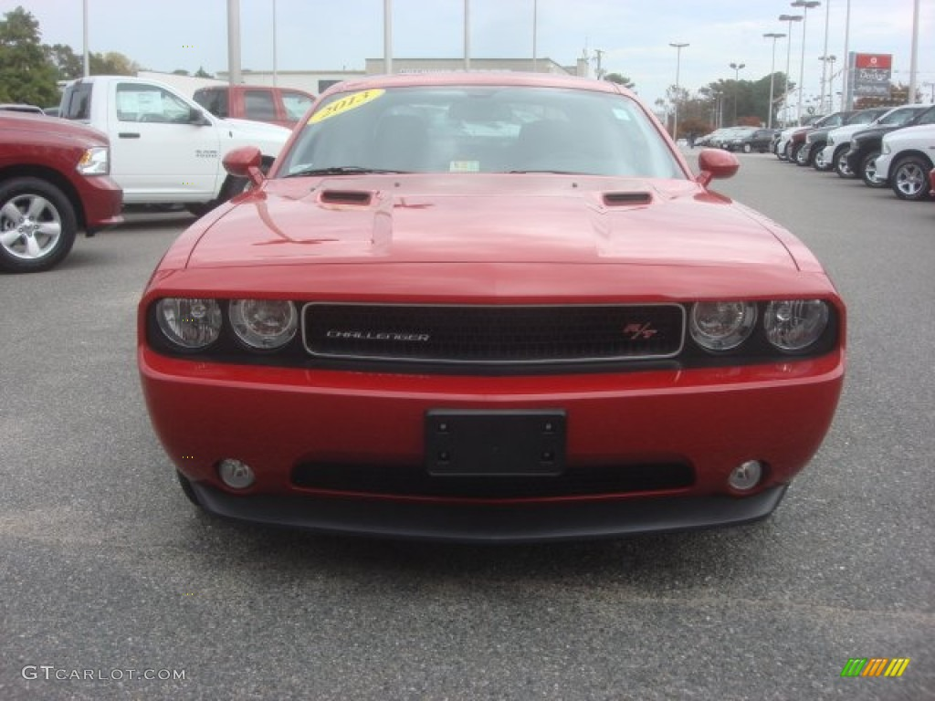 2013 Challenger R/T - Redline 3-Coat Pearl / Dark Slate Gray photo #20