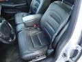 2002 Cadillac DeVille Black Interior Front Seat Photo