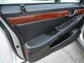 2002 Cadillac DeVille Black Interior Door Panel Photo