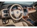 2008 Jaguar XK Caramel Interior Dashboard Photo