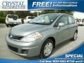 Magnetic Gray Metallic 2011 Nissan Versa 1.8 S Hatchback