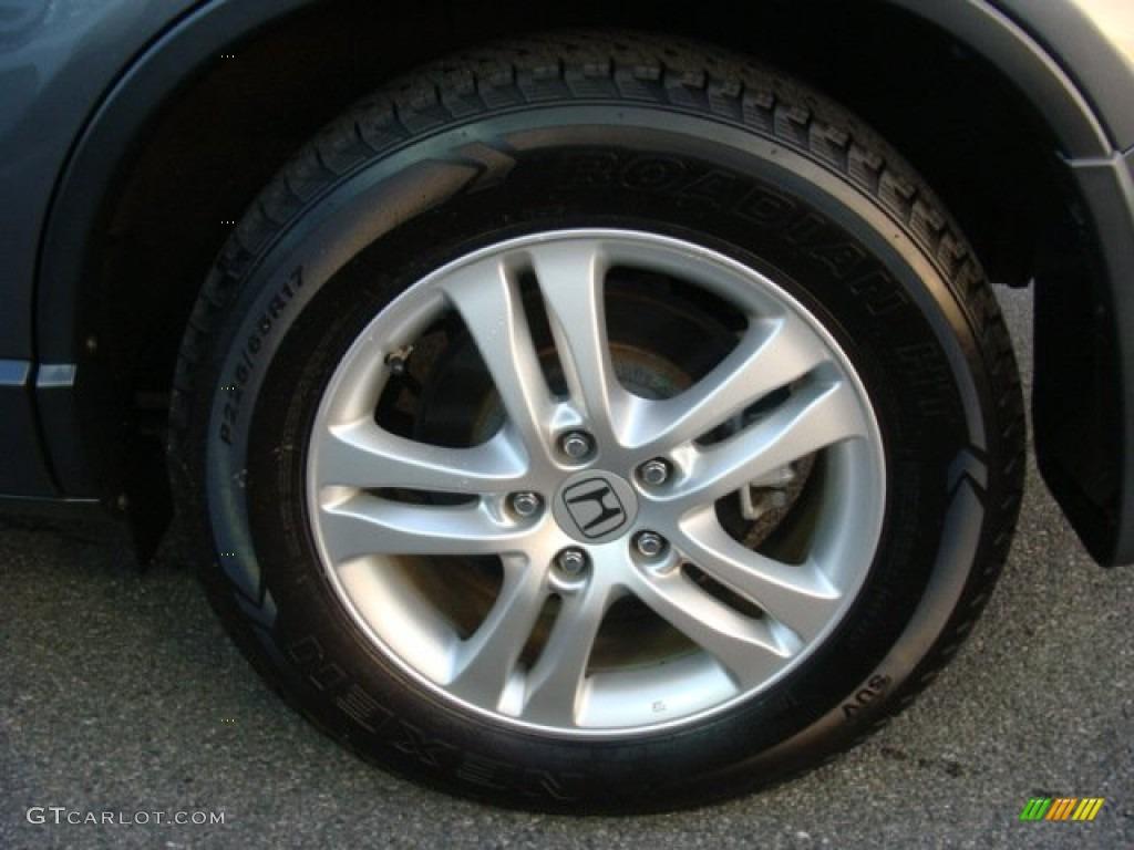 2011 CR-V EX-L 4WD - Polished Metal Metallic / Black photo #15