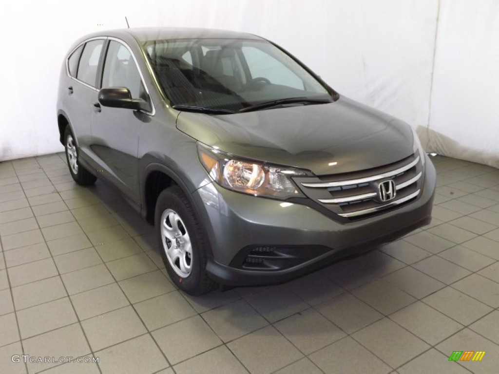 2014 CR-V LX - Polished Metal Metallic / Gray photo #1