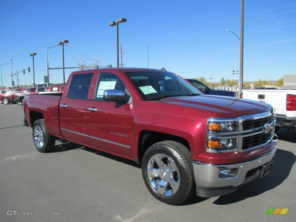 2014 chevrolet silverado ltz z71 crew cab in deep ruby. Black Bedroom Furniture Sets. Home Design Ideas