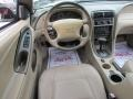 2002 Ford Mustang Medium Parchment Interior Dashboard Photo