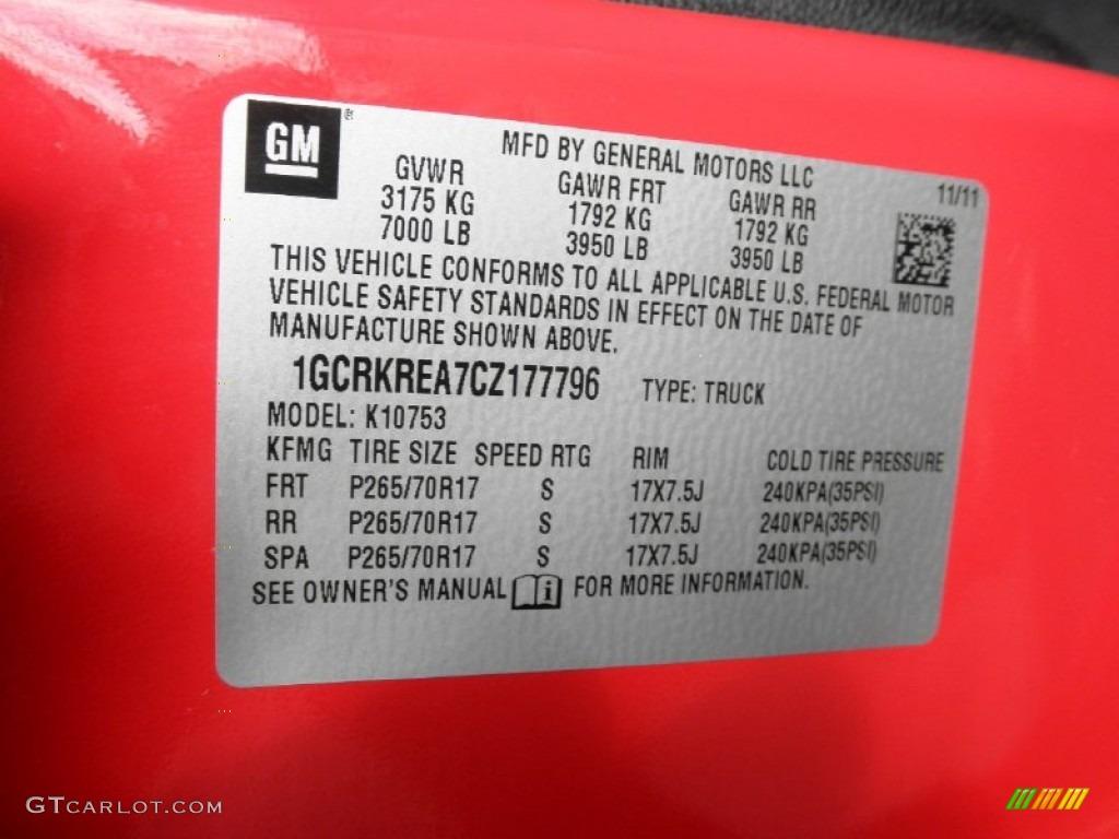 2012 Silverado 1500 LS Extended Cab 4x4 - Victory Red / Dark Titanium photo #5