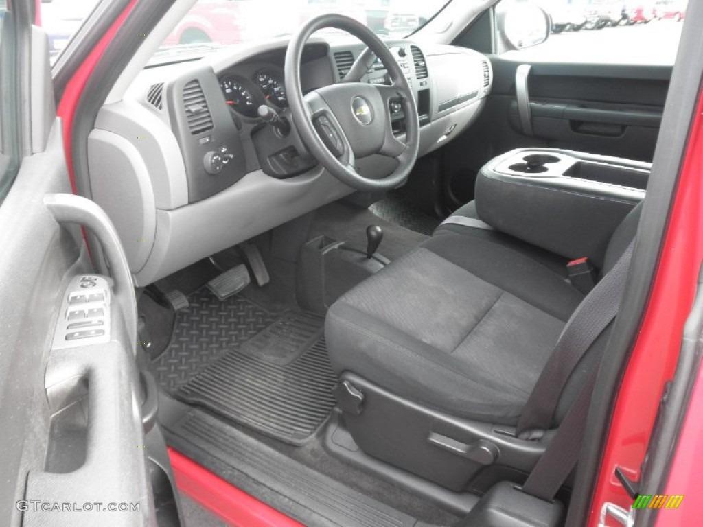 2012 Silverado 1500 LS Extended Cab 4x4 - Victory Red / Dark Titanium photo #6