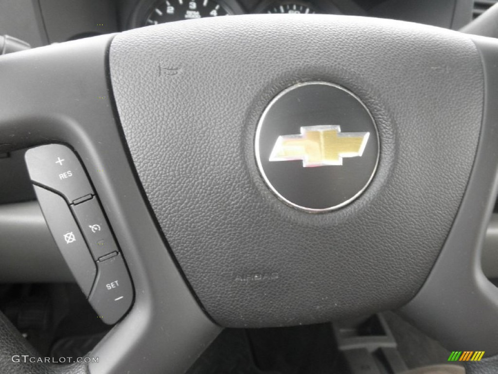2012 Silverado 1500 LS Extended Cab 4x4 - Victory Red / Dark Titanium photo #10