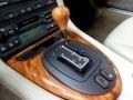 2000 Jaguar XK Oatmeal Interior Transmission Photo