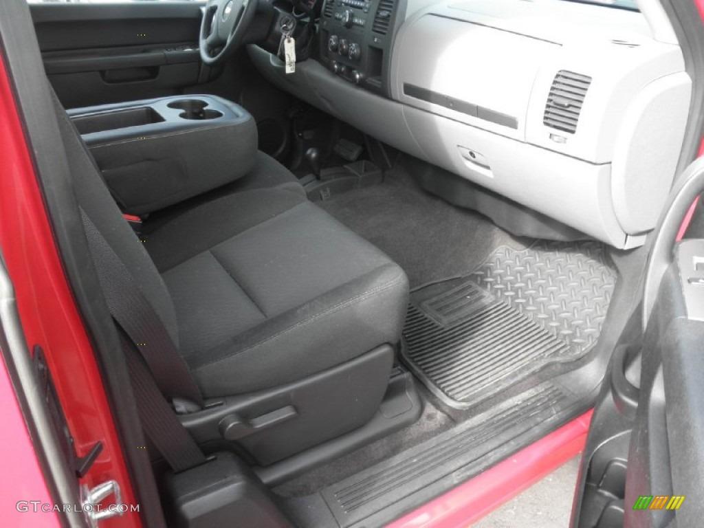 2012 Silverado 1500 LS Extended Cab 4x4 - Victory Red / Dark Titanium photo #22