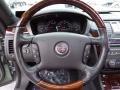 2007 Cadillac DTS Ebony Interior Steering Wheel Photo