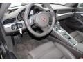 2012 New 911 Platinum Grey Interior