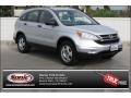 2011 Alabaster Silver Metallic Honda CR-V LX 4WD  photo #1