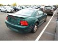 2002 Electric Green Metallic Ford Mustang V6 Coupe  photo #2