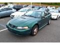 2002 Electric Green Metallic Ford Mustang V6 Coupe  photo #4