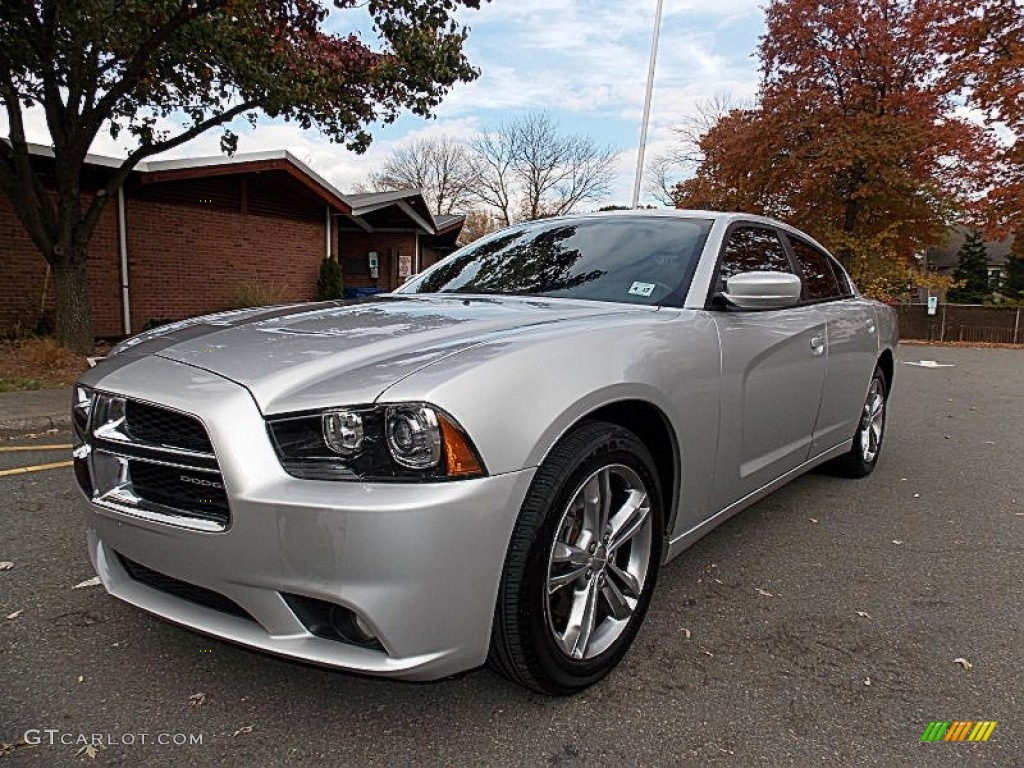 2012 bright silver metallic dodge charger sxt awd 87569358 car color galleries. Black Bedroom Furniture Sets. Home Design Ideas