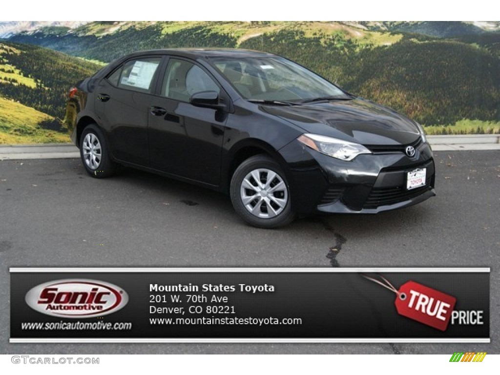 2014 black sand pearl toyota corolla l 87568678 car color galleries. Black Bedroom Furniture Sets. Home Design Ideas