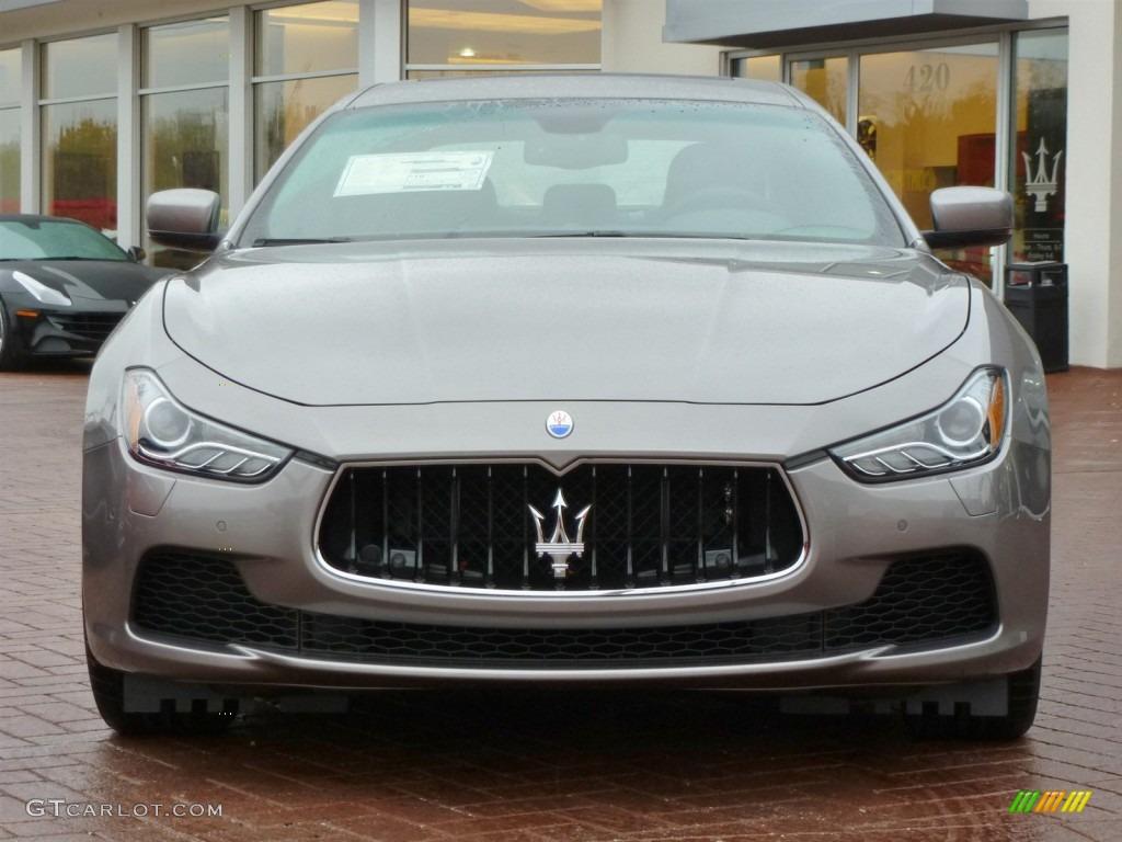 Grigio Grey 2014 Maserati Ghibli Standard Ghibli Model Exterior Photo 87599463