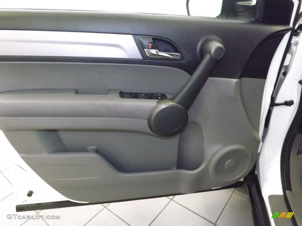 2011 CR-V EX - Taffeta White / Gray photo #11