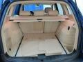 2008 BMW X3 Beige Interior Trunk Photo