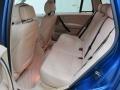 2008 BMW X3 Beige Interior Rear Seat Photo