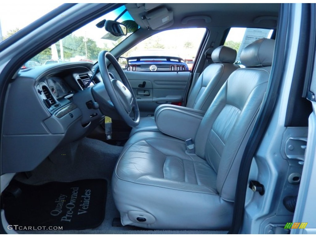 light graphite interior 2000 ford crown victoria lx sedan photo 87623669. Black Bedroom Furniture Sets. Home Design Ideas