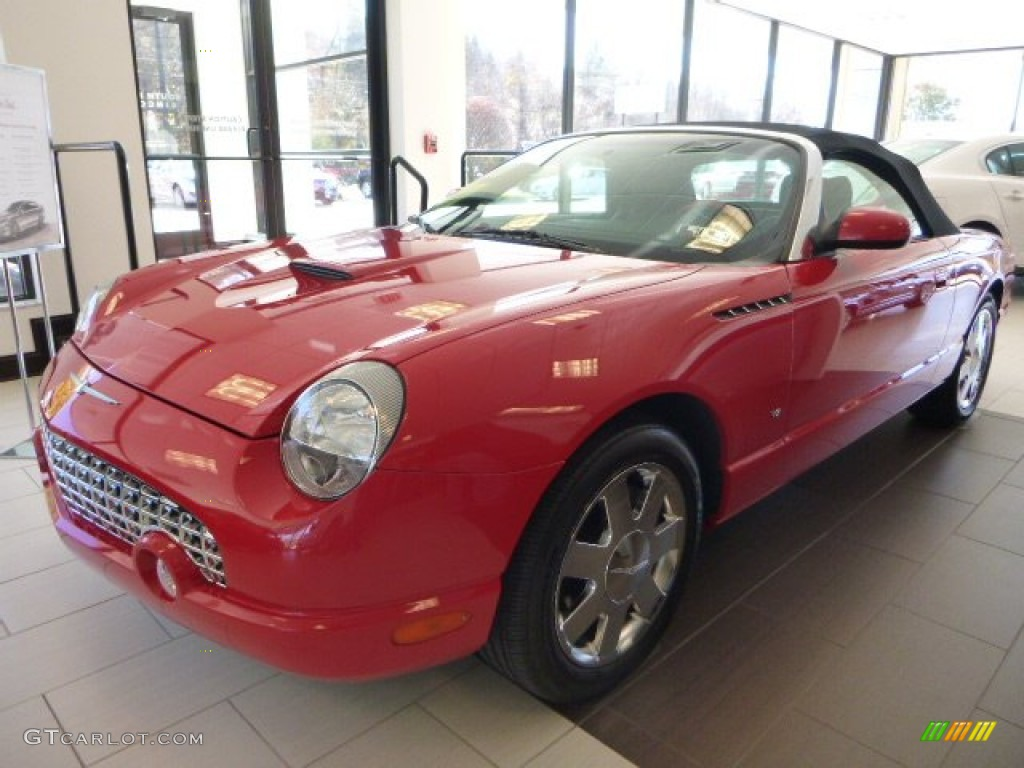 2003 ford thunderbird premium roadster interior photos gtcarlot com - 2003 Thunderbird Premium Roadster Torch Red Black Ink Torch Red Photo 1