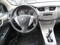 2013 Nissan Sentra Charcoal Interior Dashboard Photo