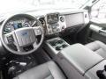 2014 Ford F250 Super Duty Black Interior Prime Interior Photo