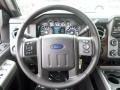 2014 Ford F250 Super Duty Black Interior Steering Wheel Photo