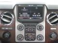 2014 Ford F250 Super Duty Black Interior Controls Photo
