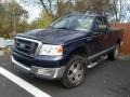 True Blue Metallic - F150 XLT Regular Cab 4x4 Photo No. 3