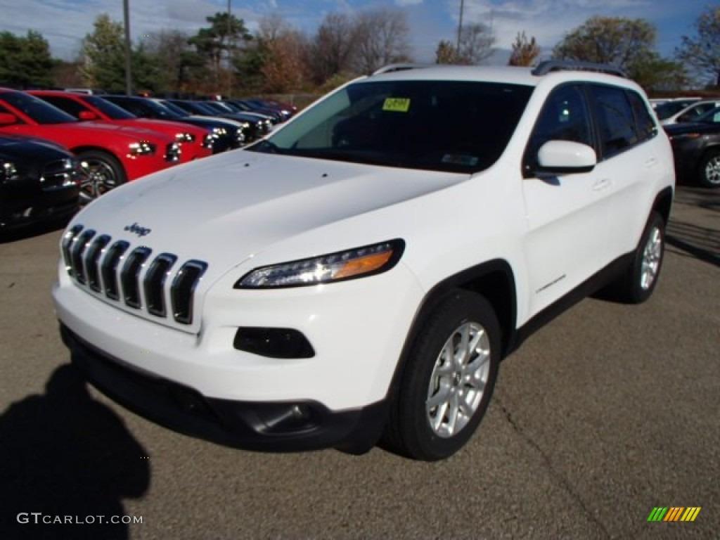 Bright White 2014 Jeep Cherokee Latitude Exterior Photo ...