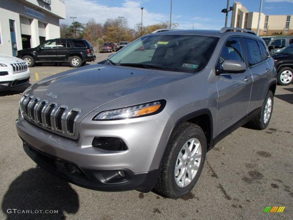 billet silver metallic 2014 jeep cherokee latitude 4x4 exterior