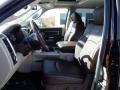 Front Seat of 2014 2500 Laramie Longhorn Crew Cab 4x4