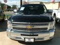 2012 Black Chevrolet Silverado 1500 LT Extended Cab  photo #1