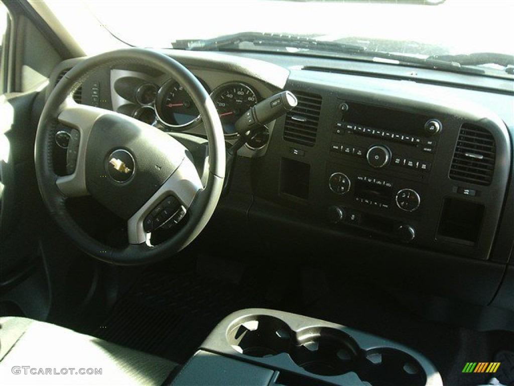 2012 Silverado 1500 LT Extended Cab - Black / Ebony photo #7