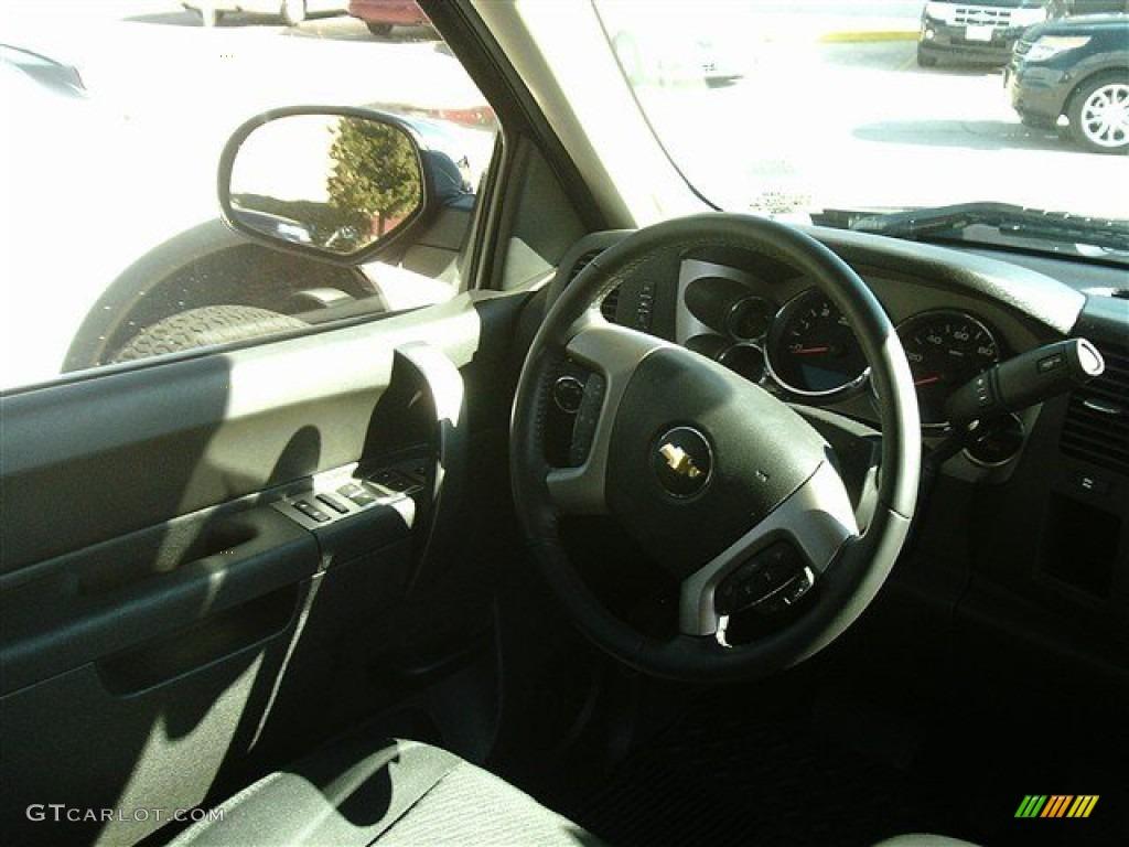 2012 Silverado 1500 LT Extended Cab - Black / Ebony photo #8