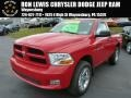 2012 Flame Red Dodge Ram 1500 Express Regular Cab 4x4 #87665905
