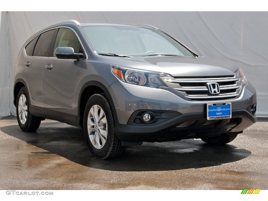 2014 CR-V EX-L - Polished Metal Metallic / Gray photo #1