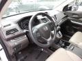 2012 White Diamond Pearl Honda CR-V EX-L  photo #3
