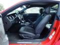 2014 Ford Mustang California Special Charcoal Black/Miko Suede Interior Interior Photo